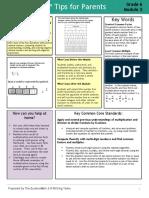 eureka math grade 6 module 2 parent tip sheet