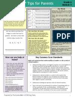 eureka math grade 6 module 3 parent tip sheet