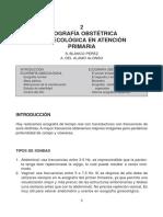 2 - Ecografía Obstétrica Y Ginecológica  Primaria