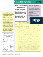 eureka math grade 6 module 5 parent tip sheet