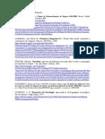 Lista de materiais para estudo