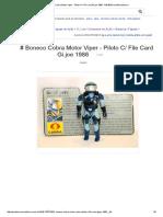 # Boneco Cobra Motor Viper - Piloto C_ File Card Gi