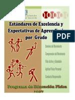 Estándares y Expectativas Educación Física 2007