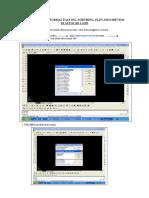 Cara Membuat Format Untuk Import Point