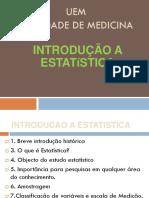 Bioestatistica - Aula 1 - Introducao 2