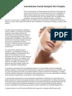 Mesoplastia. Rejuvenecimiento Facial Integral Sin Cirugía.