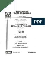 EL CONCEPTO DE EDUCACION EN FERNANDO SAVATER.pdf