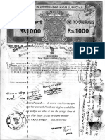Registry Document of Ramchandra Das