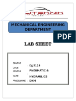 Lab Sheet Cover Jj512-1