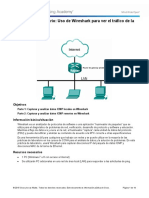 3.4.1.2 Lab - Using Wireshark to View Network Traffic