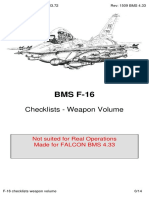Weapons Checklists