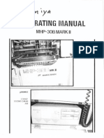 Mamiya Denshi MHP-30B Mk II Manual