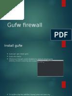 Gufw Firewall