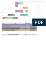 My NUSMods.com Timetable