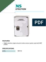 7MH7144 SIEMENS PROCESS PROTECTION MILLTRONICS MFA 4P
