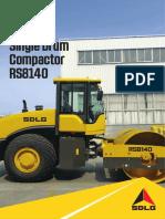 SDLG RS8140 ROAD ROLLER FOR SALE