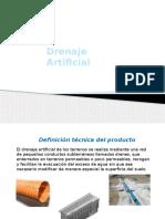 3.2 Drenaje Artificial