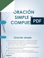 Analisis Textual - Oracion Simple y Compuesta