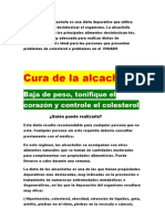 La Dieta de La Alcachofa Es Una Dieta Depurativa