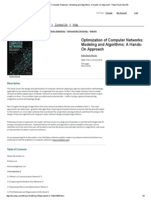 Optimization of Computer Networks: Modeling and Algorithms: A Hands-On Approach