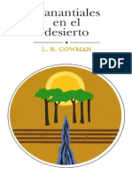 Manantiales en El Desierto