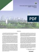 Perda Prov. Dki Jakarta No.1 Tahun 2012 Tentang Rtrw 2030