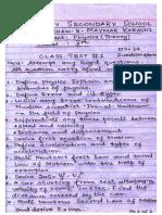 class test p - x