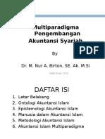 3. Multiparadigma Akuntansi Syariah