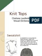 knit tops visual dictionary