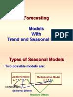 Forecasting-Seasonal Models.ppt