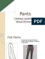 pants visual dictionary