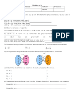 Matematicas - Prueba 4 - 8 Basico