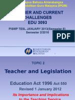Edu3093i Education Act 1996 Mr Guna