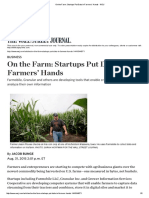 On the Farm_ Startups Put Data in Farmers' Hands