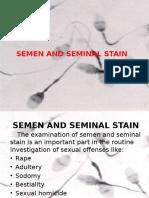 4. Semen and Seminal Stain
