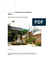 Miskolc Status Report
