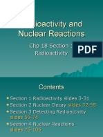 C18-Radioactivity and Nuclear Reactions