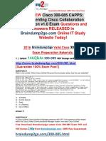 [2016.07.NEW]Cisco 300-085 PDF 146Q&As Share[31-40]