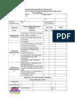 Csc Checklist