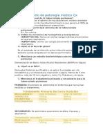 Guía de Estudio de Patología Medico Qx
