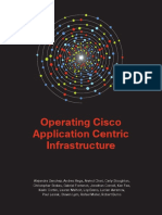 Cisco OperatingApplicationCentricInfrastructure