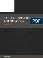 La Trobe University Art Strategy 2016