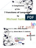 A Compilation of the 7 Functions of Language