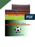 Manual de Twitter Para Periodistas Deportivos