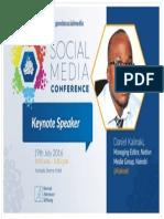 Keynote Address Uganda Social Media July 2016