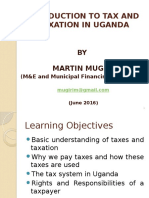 Understanding Tax and Taxation