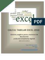 Cal Cult Abelar Excel 2010