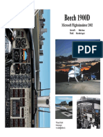 Beechcraft 1900D Checklist FS2002