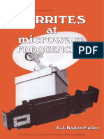 Ferrite at Microwave Frwquencies