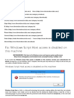 Windows Script Host access is disabled on this machine.pdf